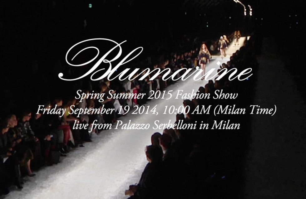 Video/ Blumarine fashion show primavera estate 2015