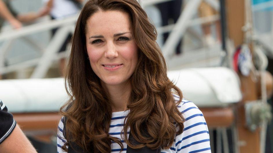 Kate Middleton dévoile enfin son baby-bump