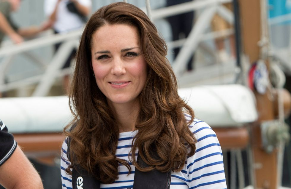 Kate Middleton dévoile enfin son baby-bump