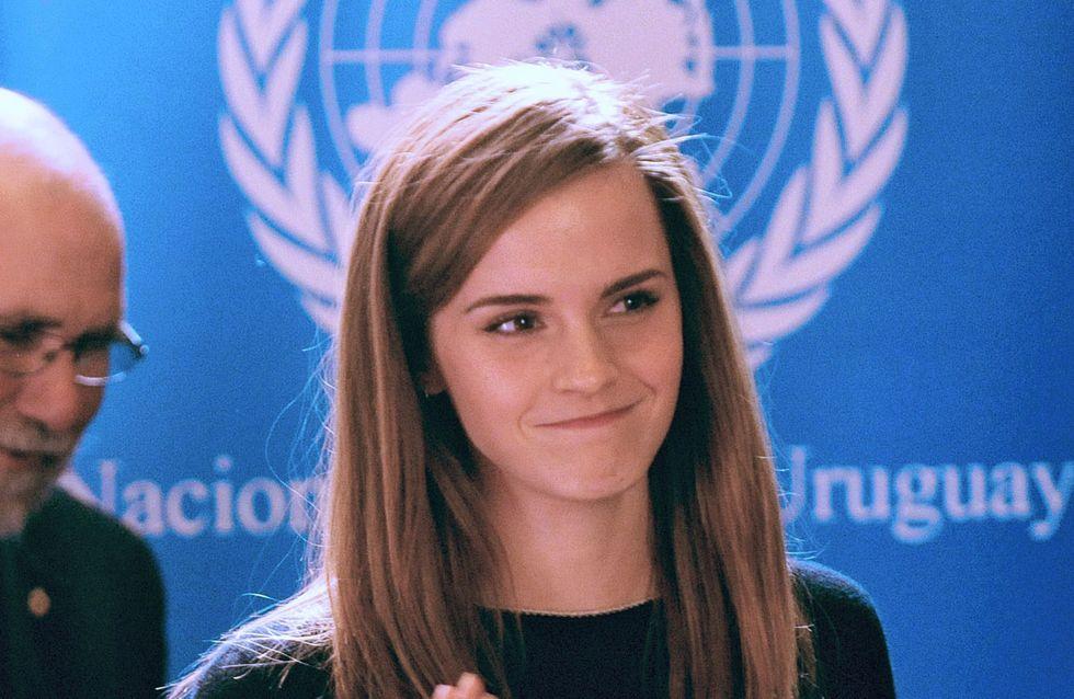 Emma Watson defiende la igualdad de la mujer en Uruguay