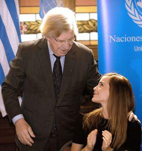 Emma Watson y Danilo Astori, Vicepresidente de Uruguay