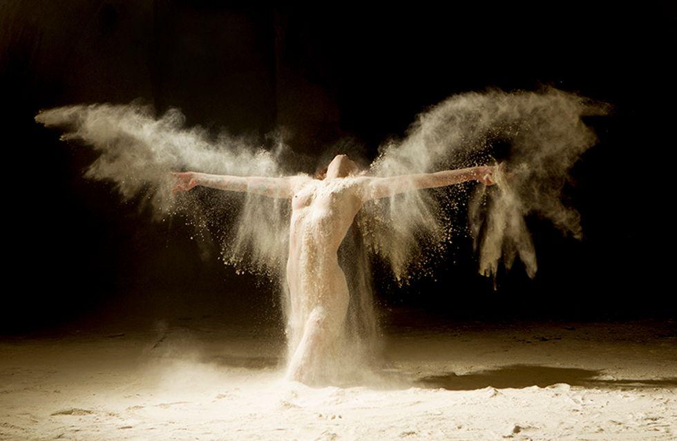 Il sublime des danseuses nues dans une série de photos incroyables…