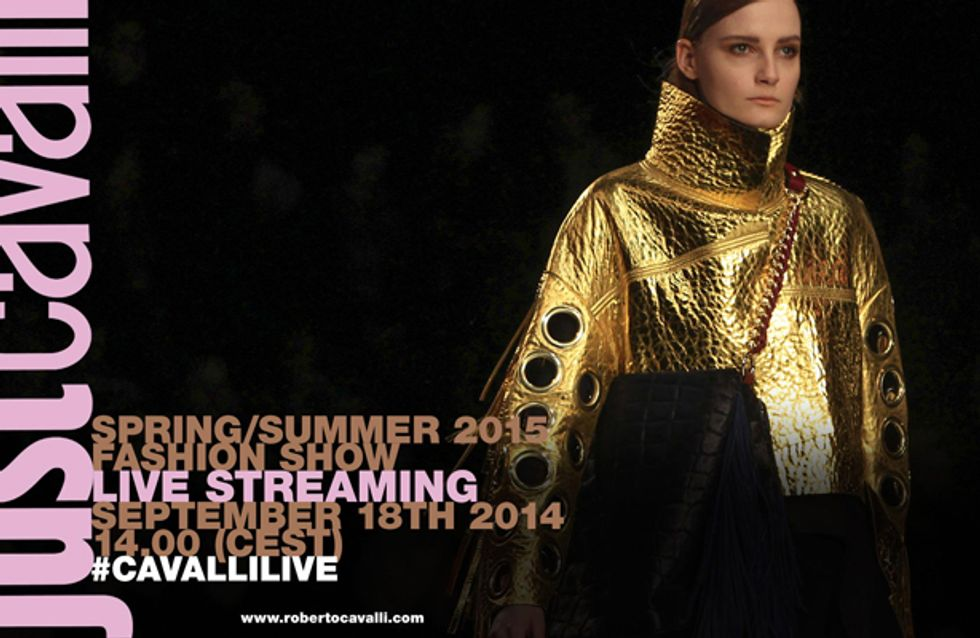 Video/ Just Cavalli fashion show primavera estate 2015