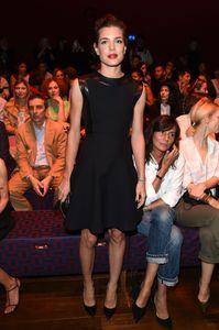 Charlotte Casiraghi au défilé Gucci