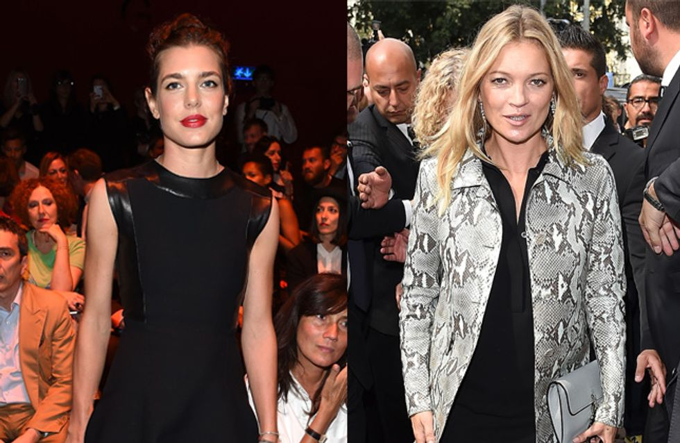 Charlotte Casiraghi, Kate Moss... Les modeuses au défilé Gucci