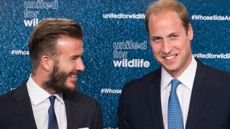 David Beckham : Futur parrain du Royal Baby ?
