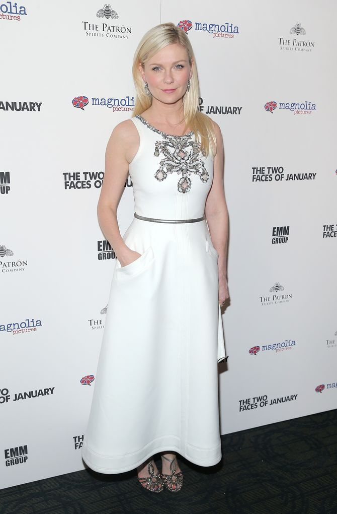 Kirsten Dunst le 17 septembre 2014