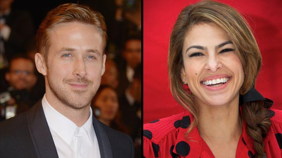 """Eva Mendes et Ryan Gosling : Leurs mamans """"très excitées"""" par l'arrivée du bébé"""