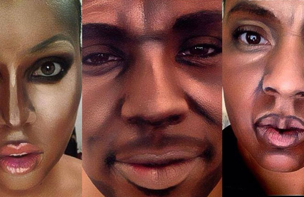Snoop Dogg, Jay Z, Drake?! This Woman Uses Make-Up To Turn Herself Into Male Celebrities!
