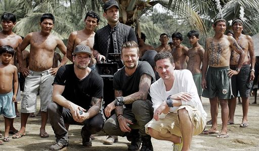 David Beckham, une aventure en Amazonie