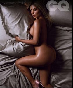 Kim Kardashian pour GQ