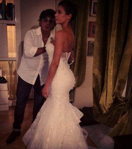 Elisabetta Canalis mette all'asta il suo abito da sposa. Ecco la foto!