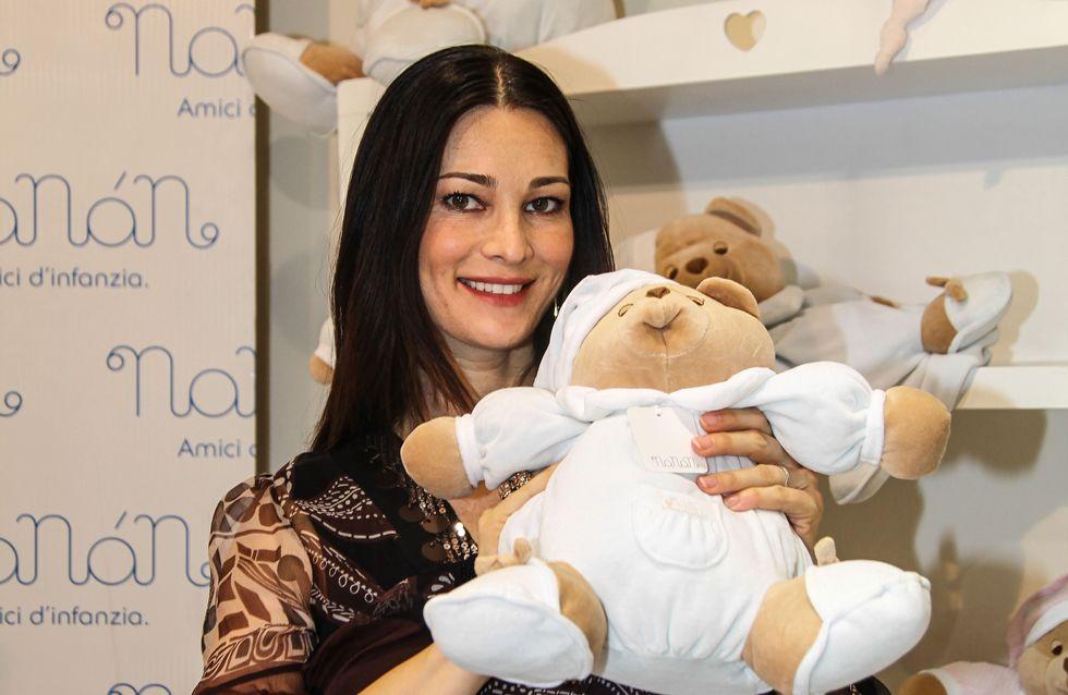 Manuela Arcuri al battesimo del figlio Mattia. Guarda le immagini!