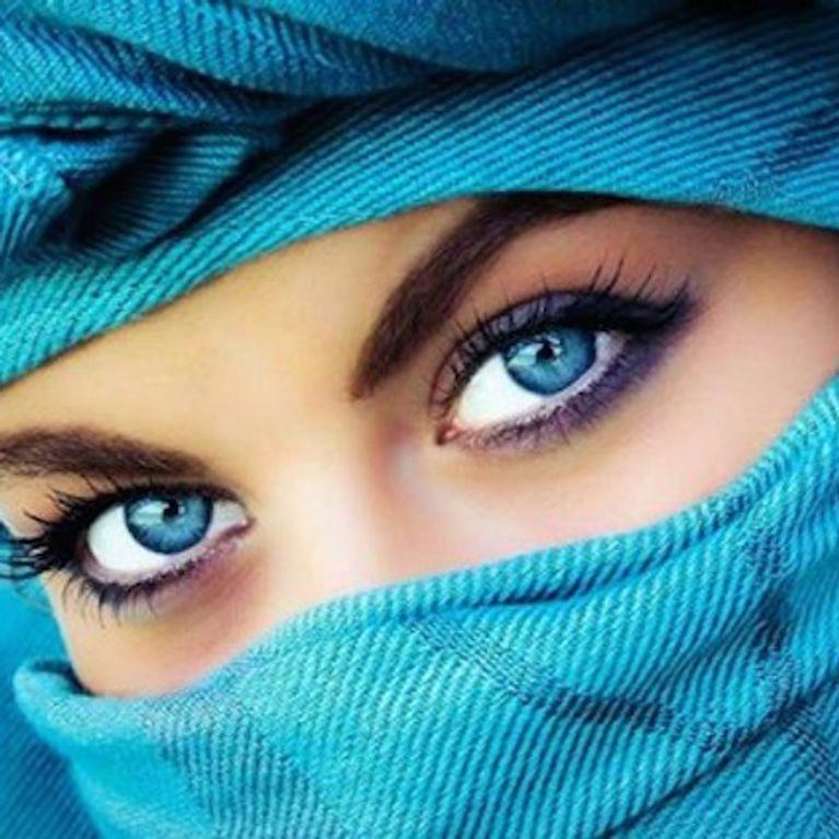Ojos aceitunados