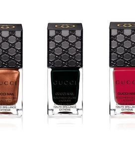 Gucci Cosmetics : Découvrez les premiers vernis à ongles