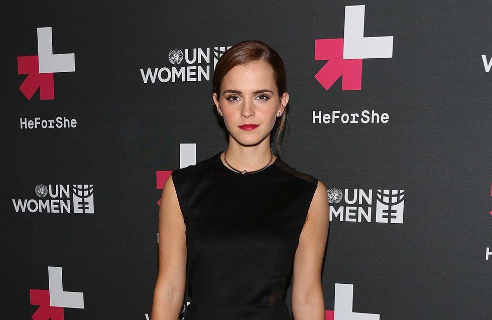 Emma Watson : Son touchant discours pour défendre l'égalité hommes/femmes
