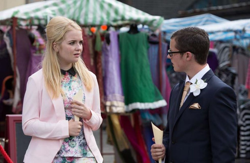 Eastenders 29/09 – It's time for the bride and groom to be wed