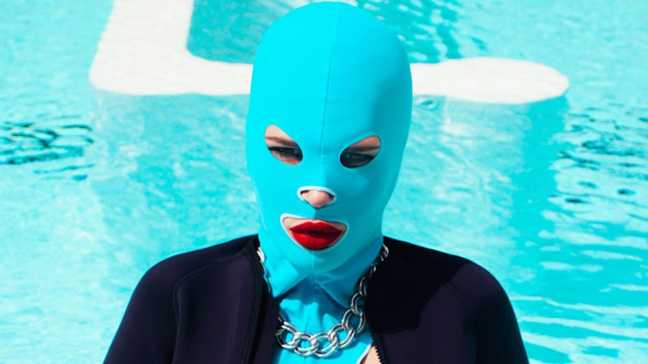 Are Pool Masks About To Become A Thing? Let's Hope Not