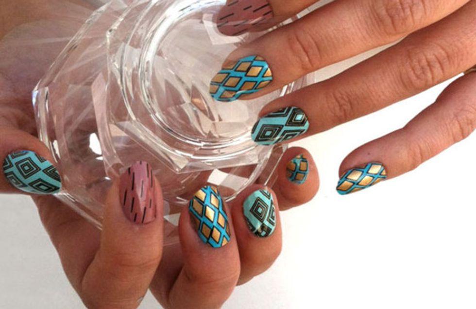 'Flip'-Maniküre? Nail Art Trends, die wir jetzt unbedingt ausprobieren sollten