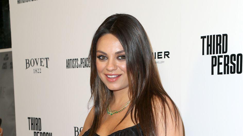 Mila Kunis a accouché !