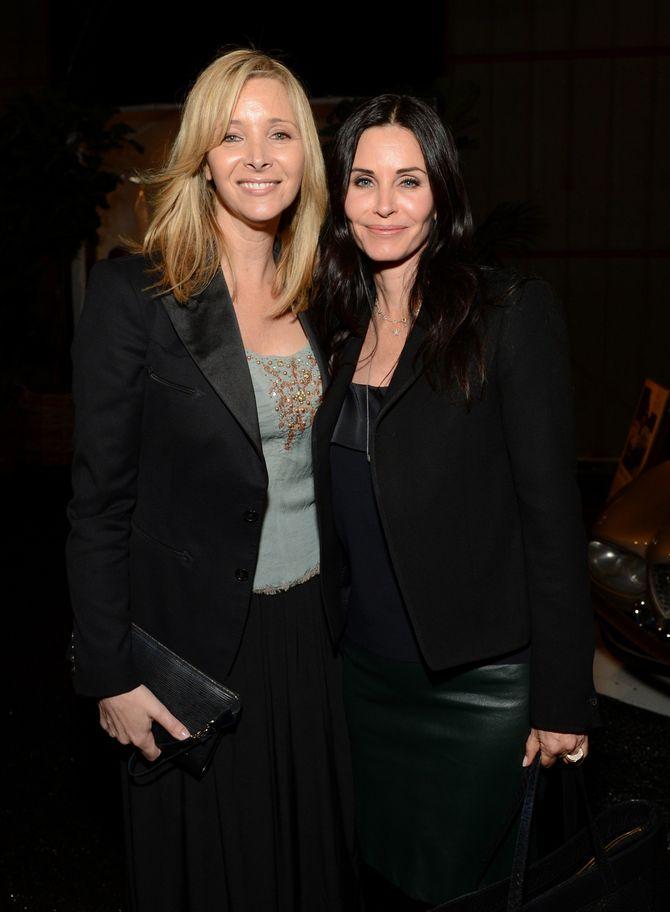 Lisa Kudrow et Courteney Cox