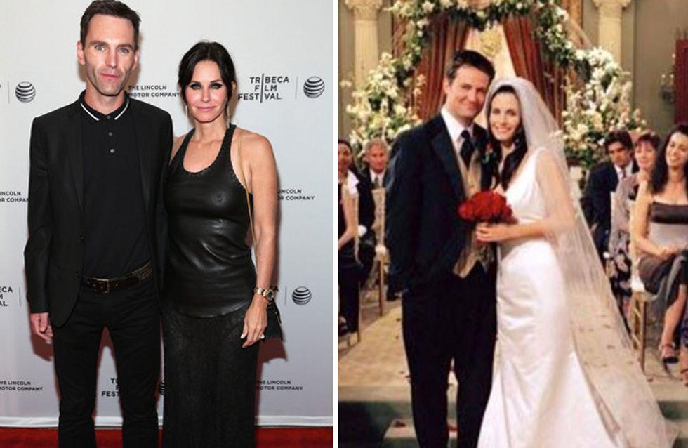 Courteney Cox sposerà il compagno con lo stesso abito indossato nella fiction Friends!