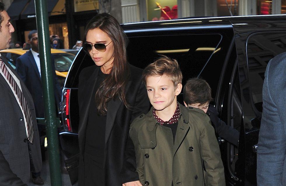 Victoria Beckham : Son fils Romeo pose de nouveau pour Burberry (Photo)
