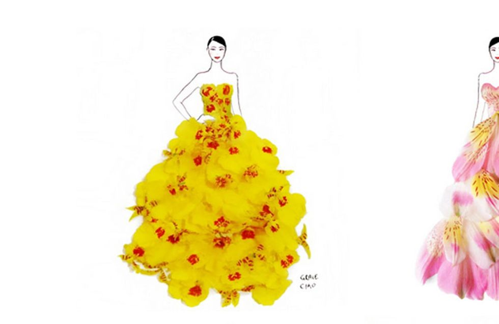 See How This Designer Brings A Whole New Meaning To Floral Fashion