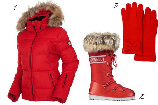 Mode ski : mon look red dingue