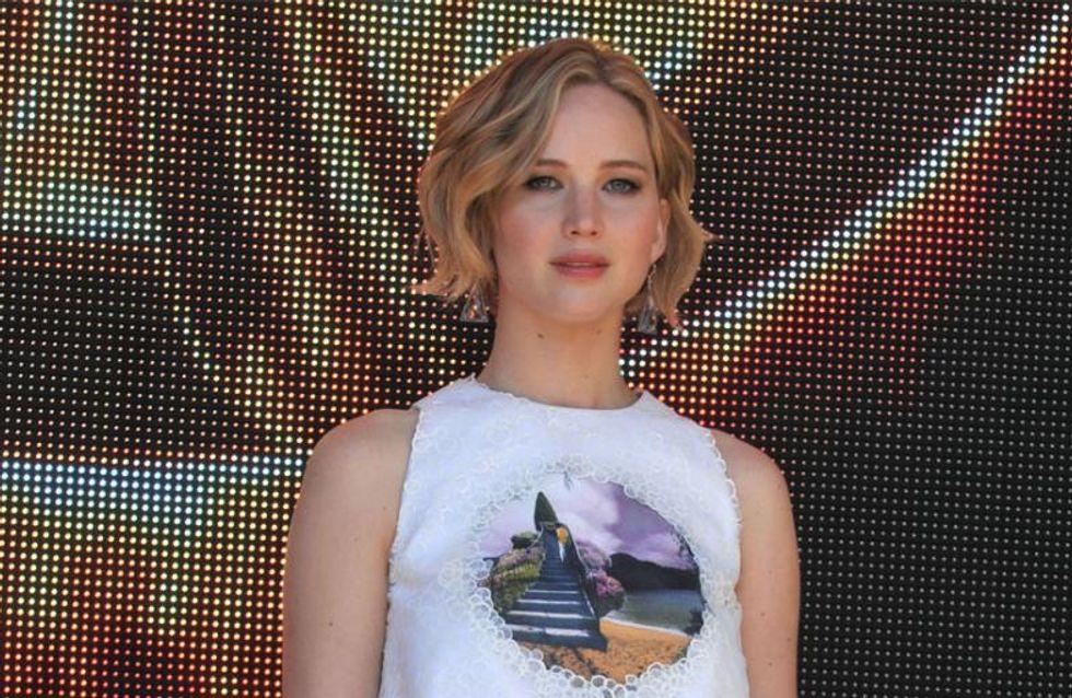 Schluss mit dem Versteckspiel: Chris Martin und Jennifer Lawrence knutschen in der Öffentlichkeit
