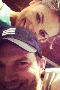 Ashton Kutcher et Mila Kunis