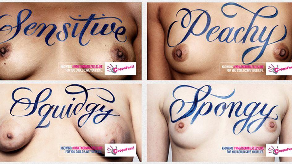 SO fühlen sich Brüste wirklich an! Diese Kampagne sagt Brustkrebs den Kampf an