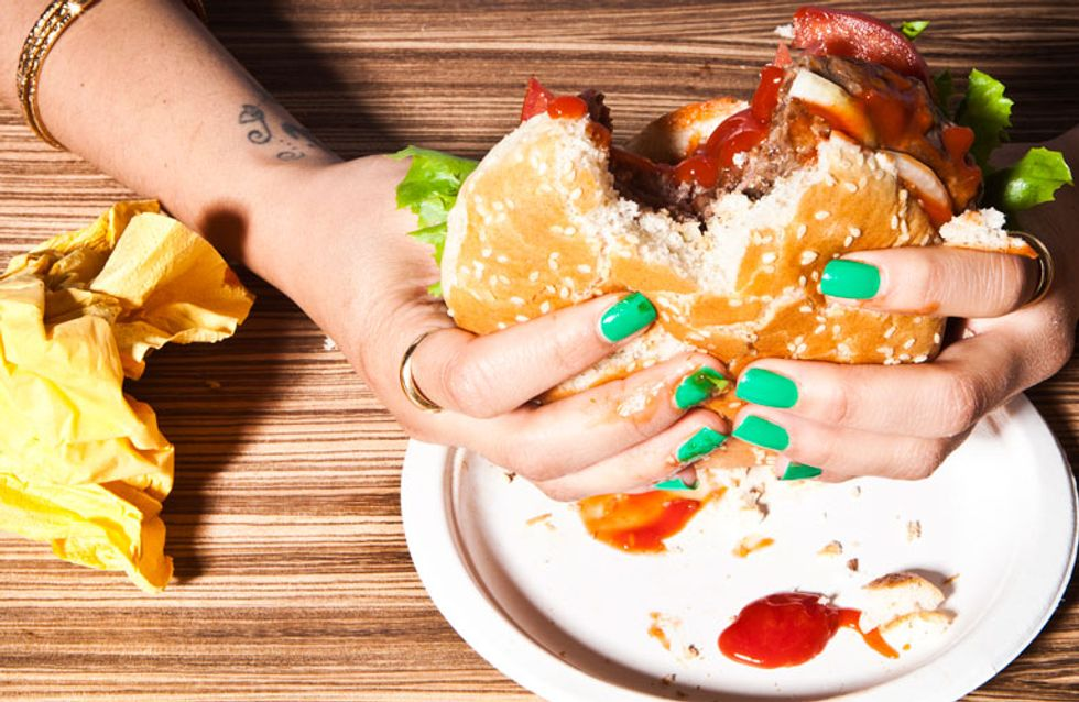 Stop eating burgers! What your spots are trying to tell you!