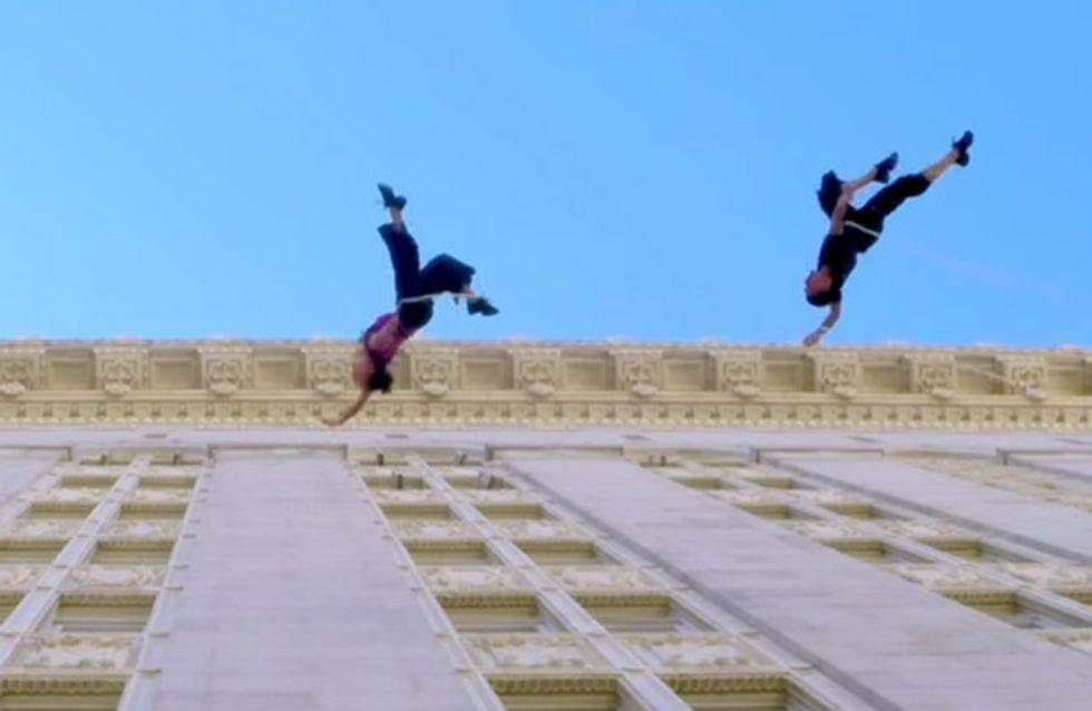Spektakulär, beeindruckend und faszinierend: Bei diesen beiden Tänzern stockt uns der Atem