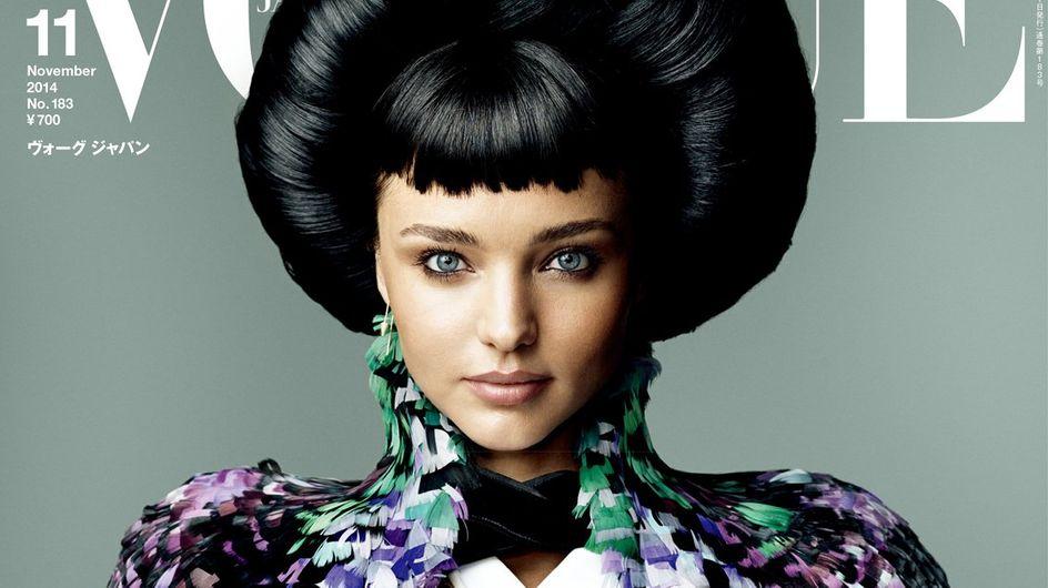 Miranda Kerr : Métamorphosée en geisha pour Vogue Japon