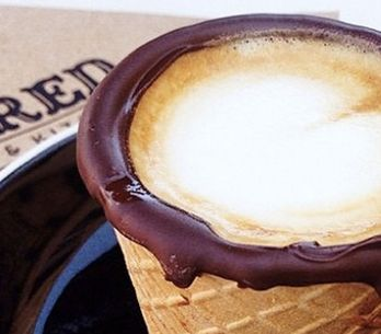 Coffee In An Edible Waffle Cup Is The Best Food And Drink Hybrid Yet