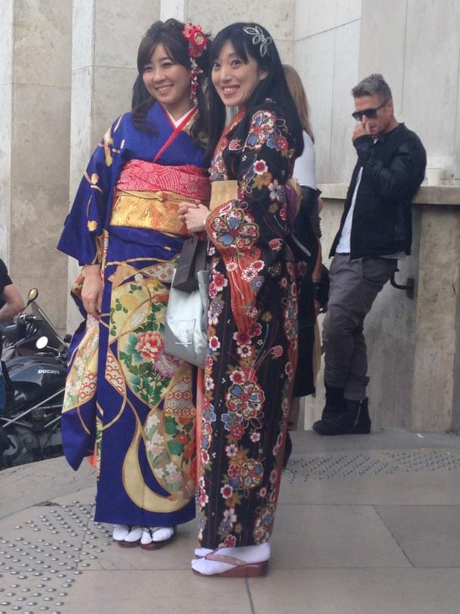 Les fashionistas au défilé Rochas