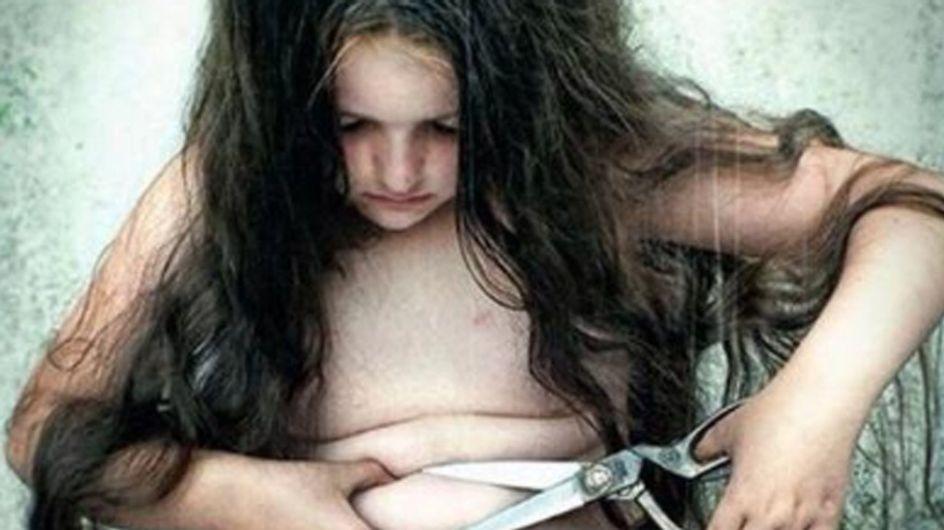 Wollen wir unsere Kinder in so einer Gesellschaft aufwachsen sehen? Dieses Bild macht uns so traurig!