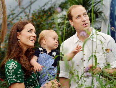 Kate Middleton, William et George