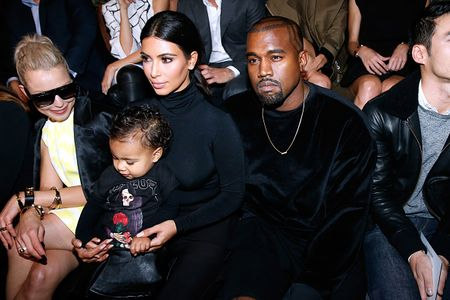Kim Kardashian, Kanye West & North West