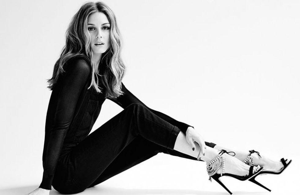 Olivia Palermo x Aquazzura : Les it-shoes débarquent chez Montaigne Market