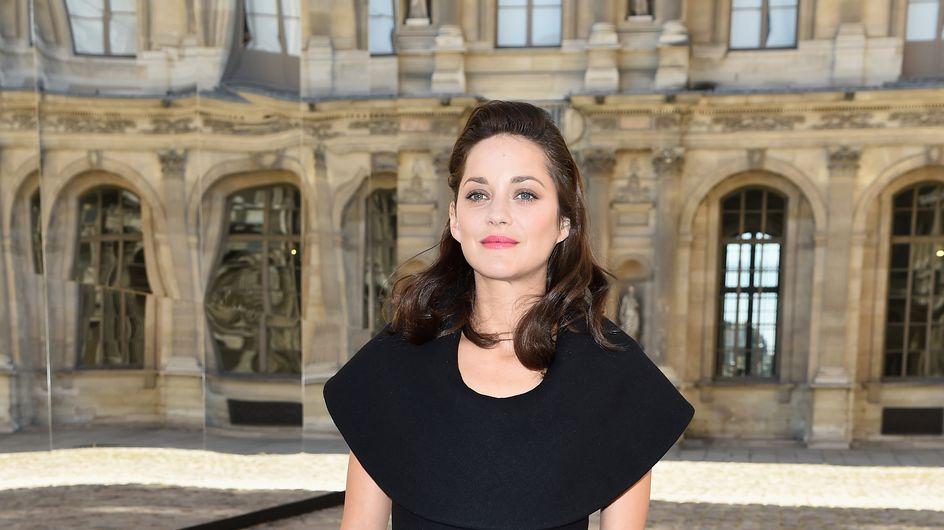 Marion Cotillard : Un look glamour pour le défilé Dior