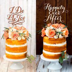 Por que você vai querer um naked cake no seu casamento
