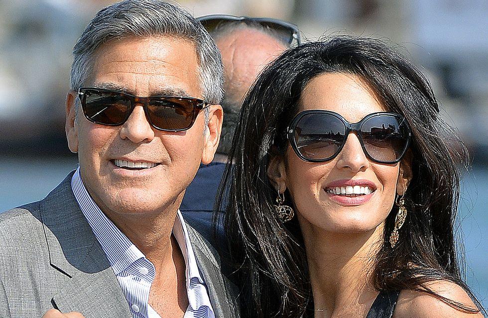 Mariage de George Clooney et Amal Alamuddin : C'est le grand jour !