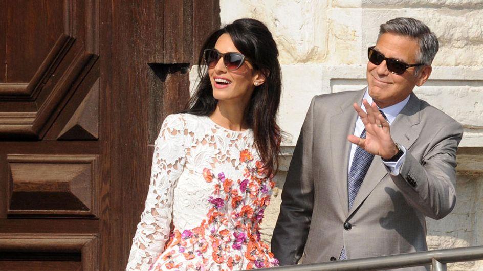 """George Clooney y Amal Alamuddin se dan el """"sí, quiero"""" en Venecia"""