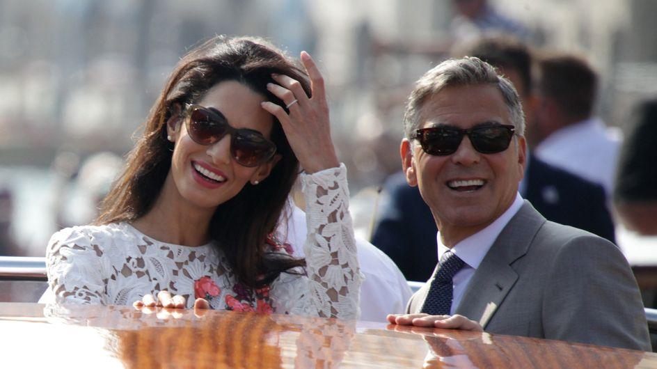 George-Amal: sabato le promesse, oggi il sì definitivo in municipio. Le foto dei neo sposi!