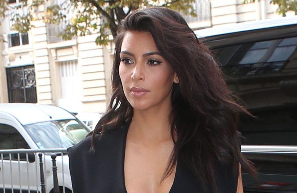 Kim Kardashian, atacada por un bromista en París