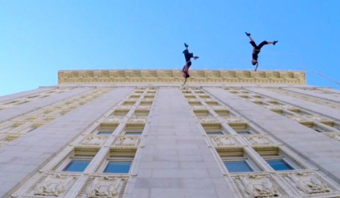 Ballerini in aria