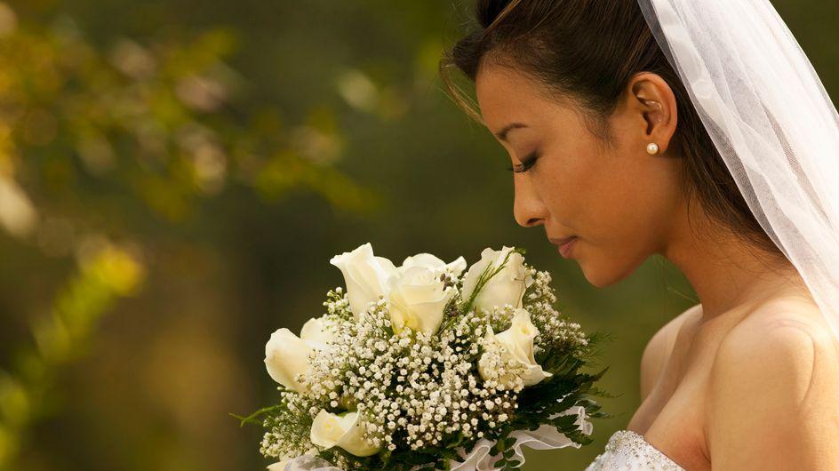 Chine : Pour son mariage, elle porte une traîne de... 4 km (Photo)