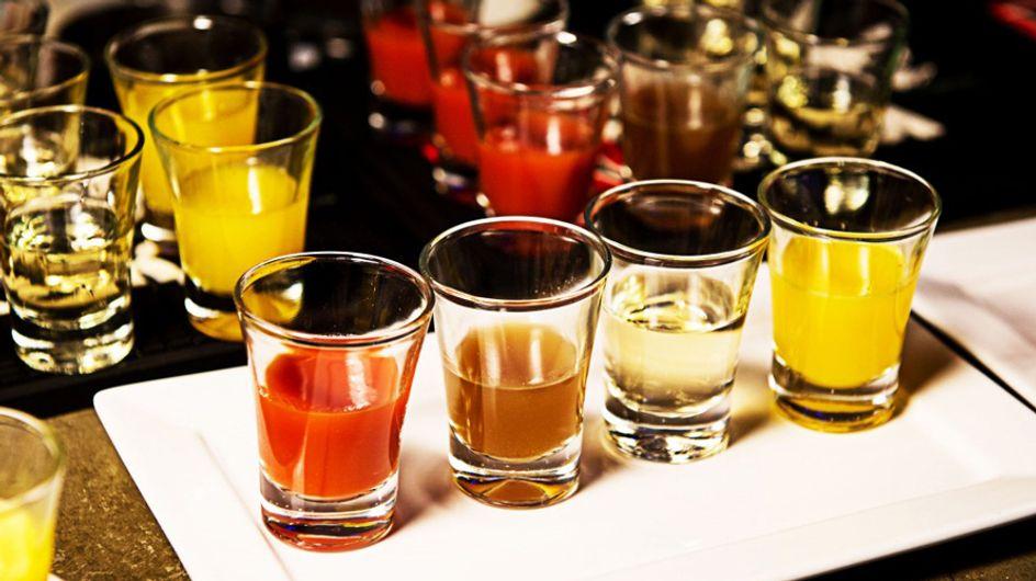 Bezin eer je begint! Alcohol zit boordevol calorieën!